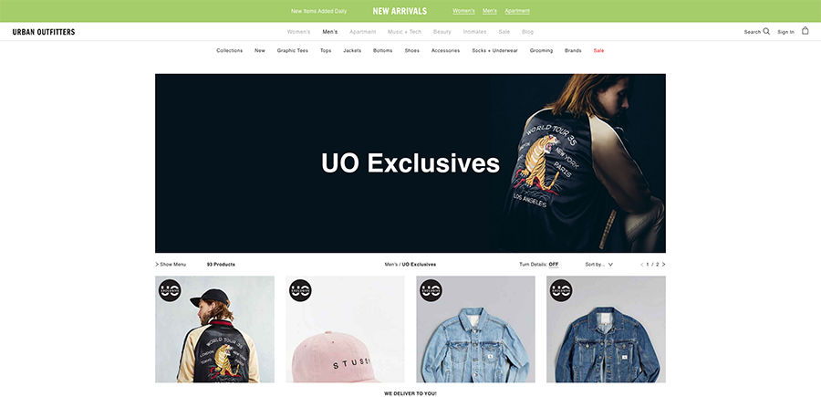 UO Exclusives Urban Outfitters