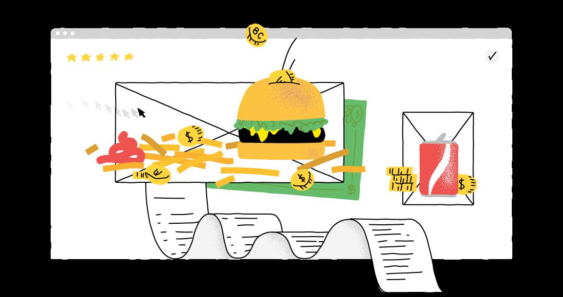 Make money food blogging