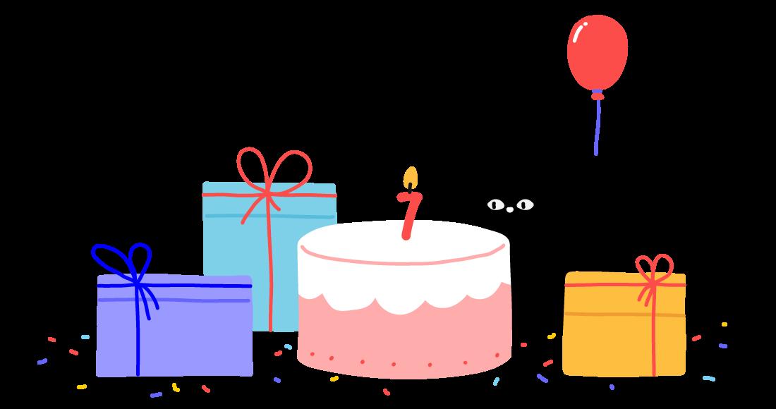 Themes Kingdom Team Celebrating 7th Birthday