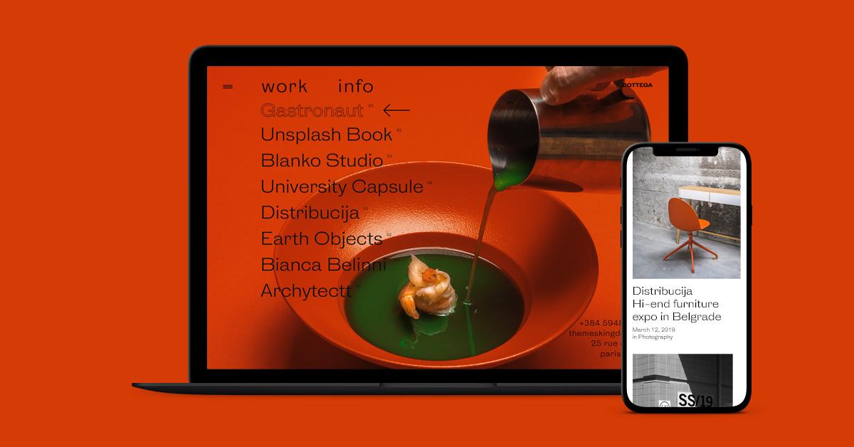 Bottega, Our New Blog/Portfolio Premium WordPress Theme