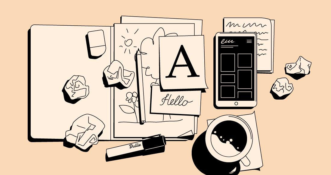 Making a graphic design portfolio