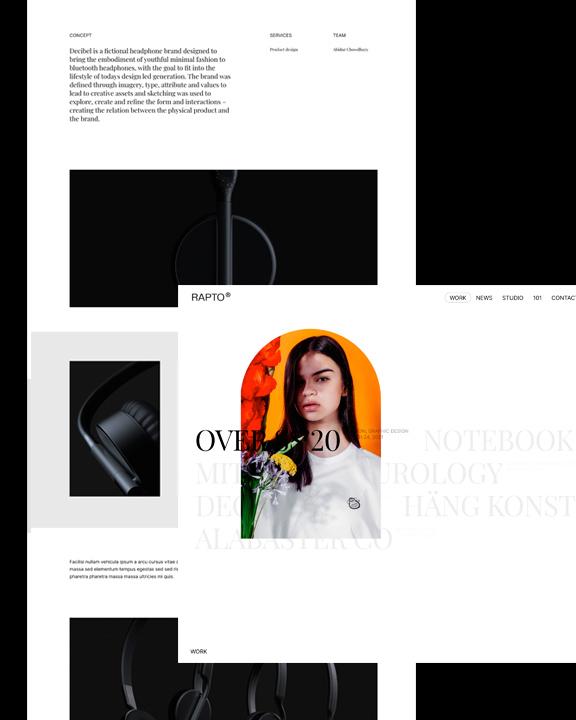 Rapto WordPress theme